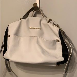 Steve Madden White Leather Purse